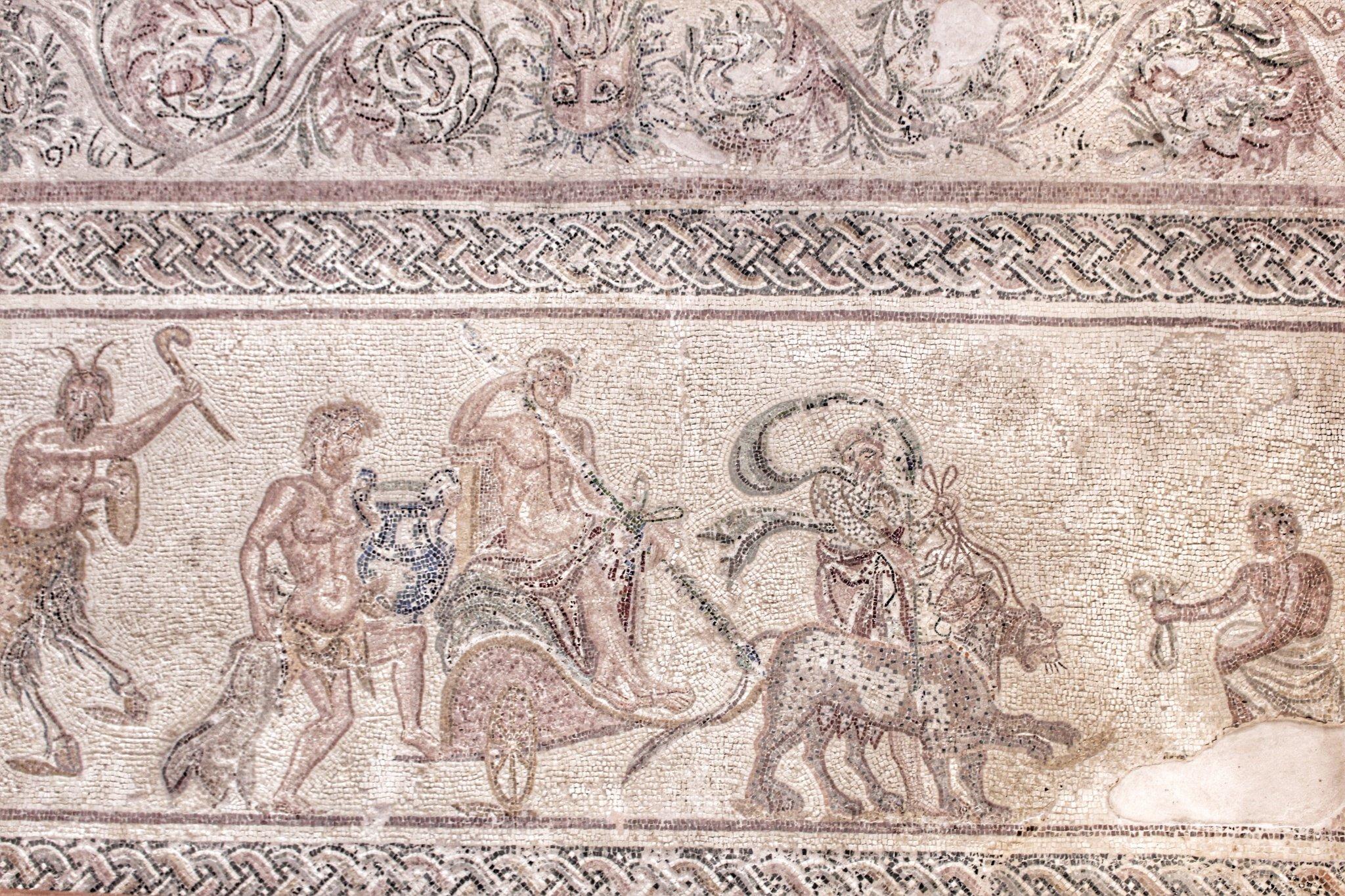 Roman mosaics in Cyprus: Kato Paphos Archaeological Park