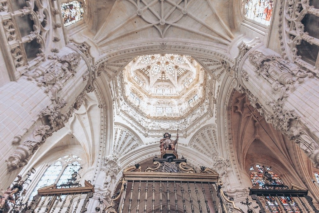 Inside the Burgos Cathedral #burgos #spain #cathedral #architecture #beautiful #europe #travel #destinations #burgos #castlileleon