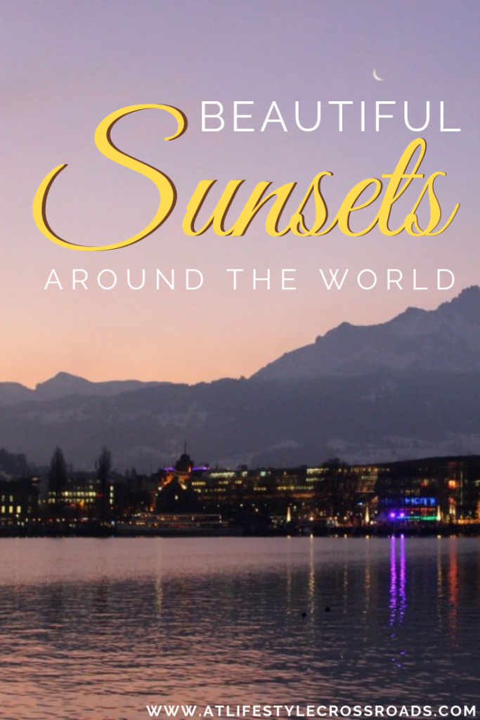 My Most Beautiful Sunsets Around The World #sunset #travel #inspiration #blog #most #beautiful #magical #places