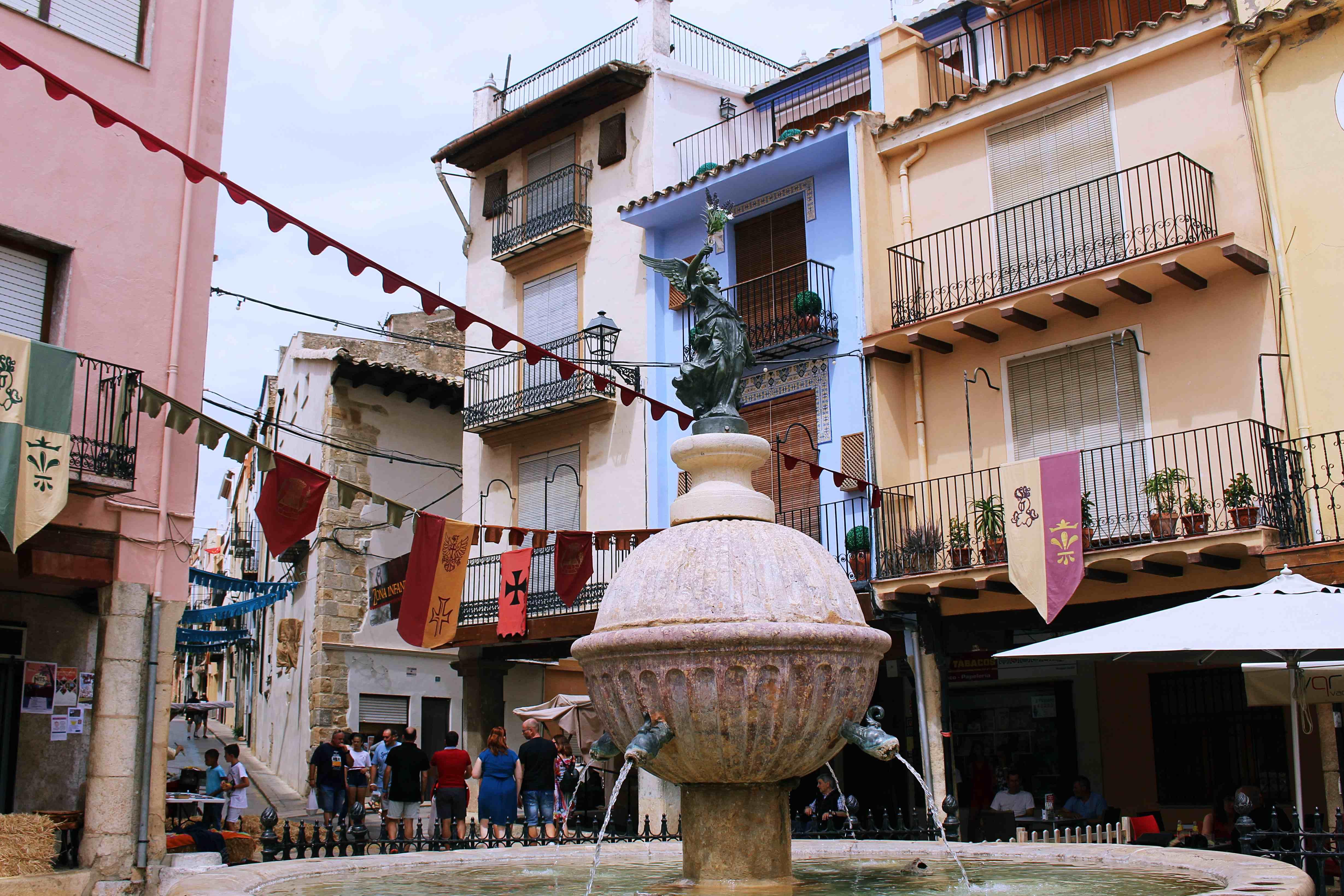 Medieval Fairs in Spain: Sant Mateu #medieval #fairs #list #spain #travel #europe #wanderlust #inspiration