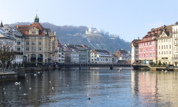 My first impression of Switzerland and a magical weekend in Lucerne