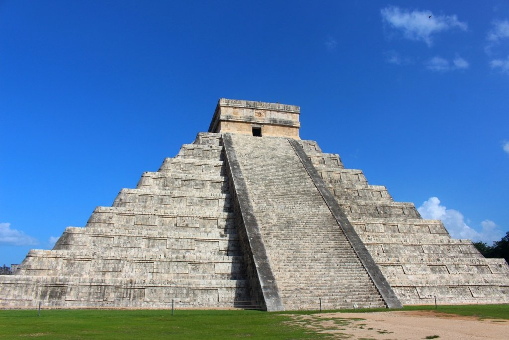 Chichen Itza without people in Reviera Maya, Mexico