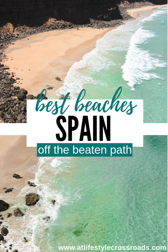 Best Beaches in Spain off the beaten path