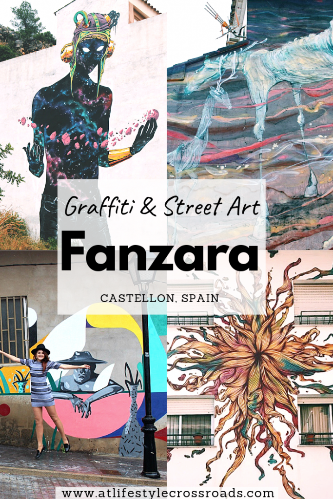 Visiting Fanzara - A Graffiti Village in Spain