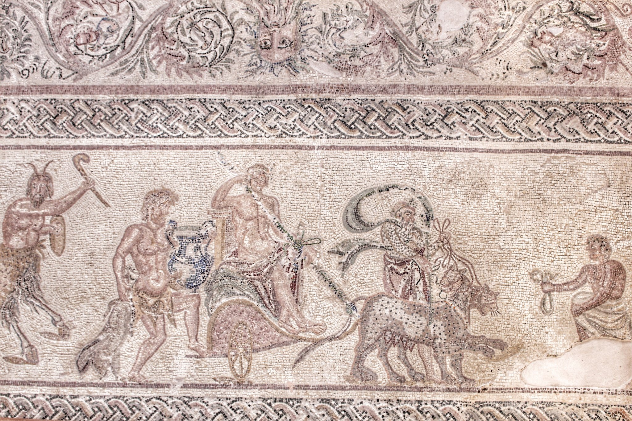 Must-see Paphos Mosaics in Cyprus
