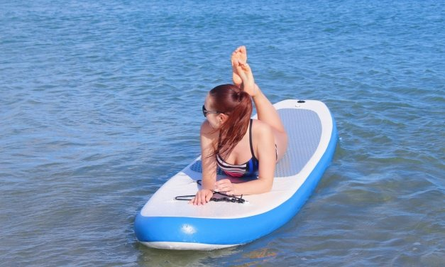 My Latest Obsession: Benefits of  Standup Paddle Boarding