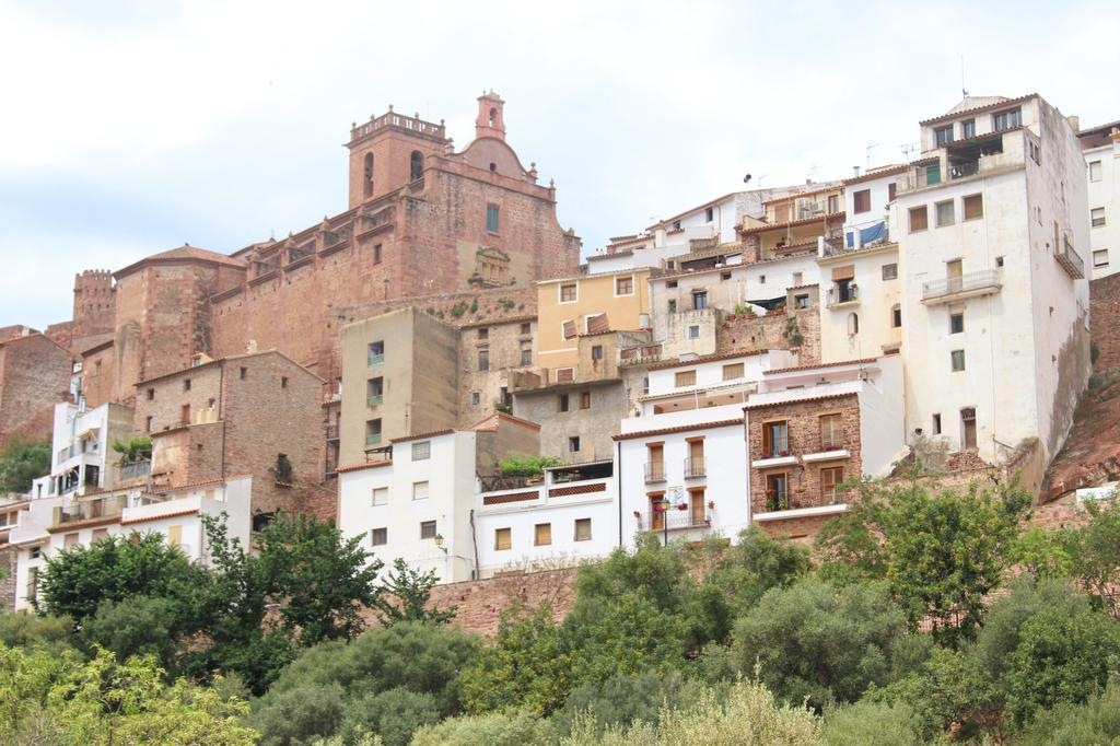 The views of Vilafames in the province of Castellon, Spain