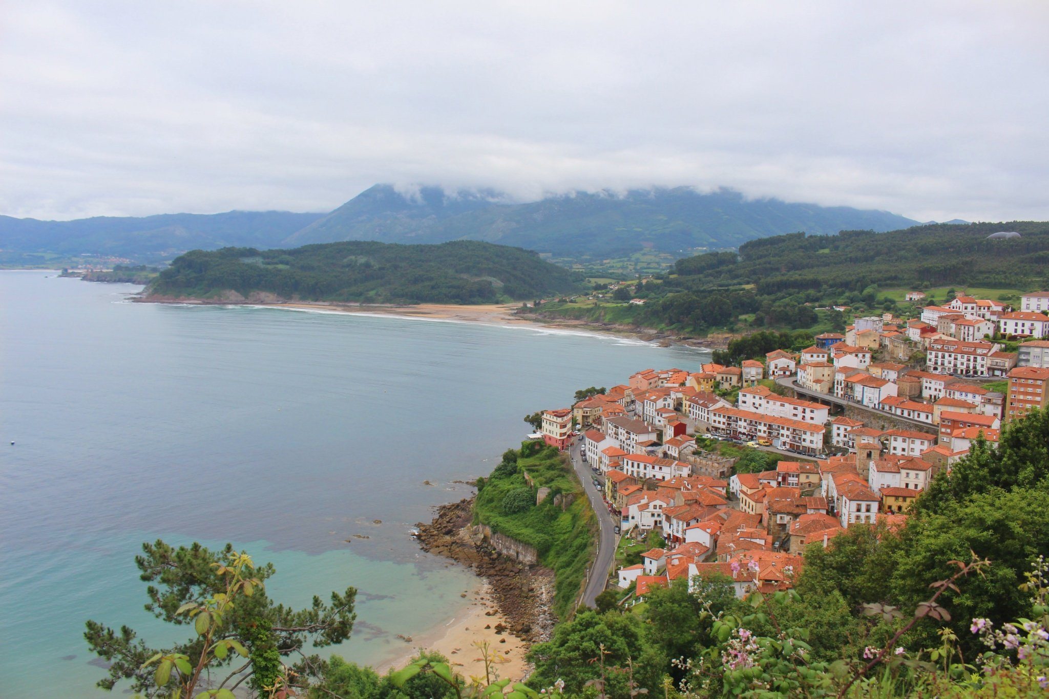 Lastres one of the most beautiful villages in Asturias, Spain