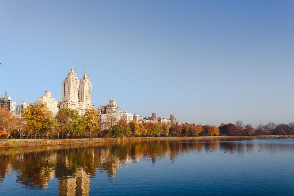 autumn colors at Central Park