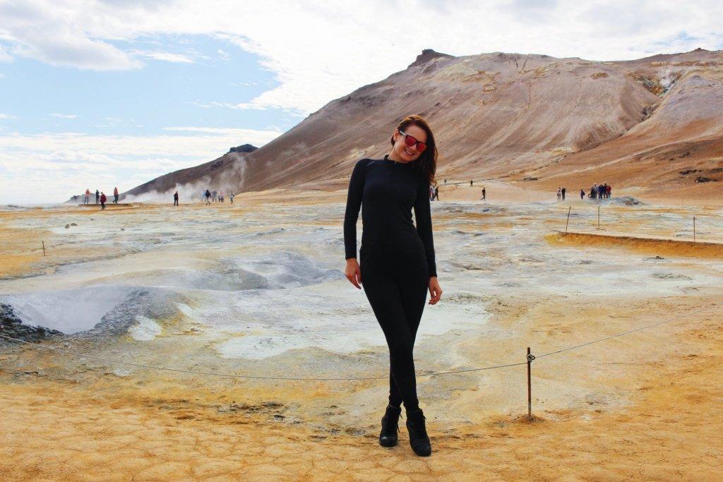 Visiting Hverir Mudpots in Iceland