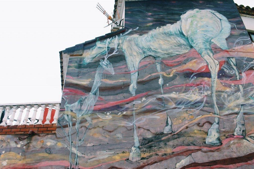 Fanzara, Spain: Graffiti everywhere #fanzara #castellon #graffiti #spain #art #modern #streetart