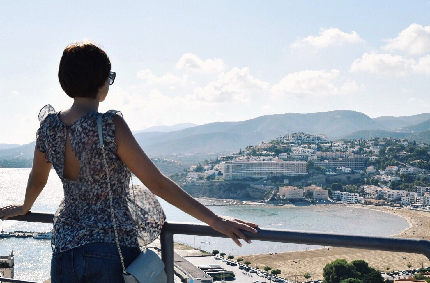The views from the Castle of Pope Luna in Peñiscola, one of the Game of Thrones filming locations in Spain