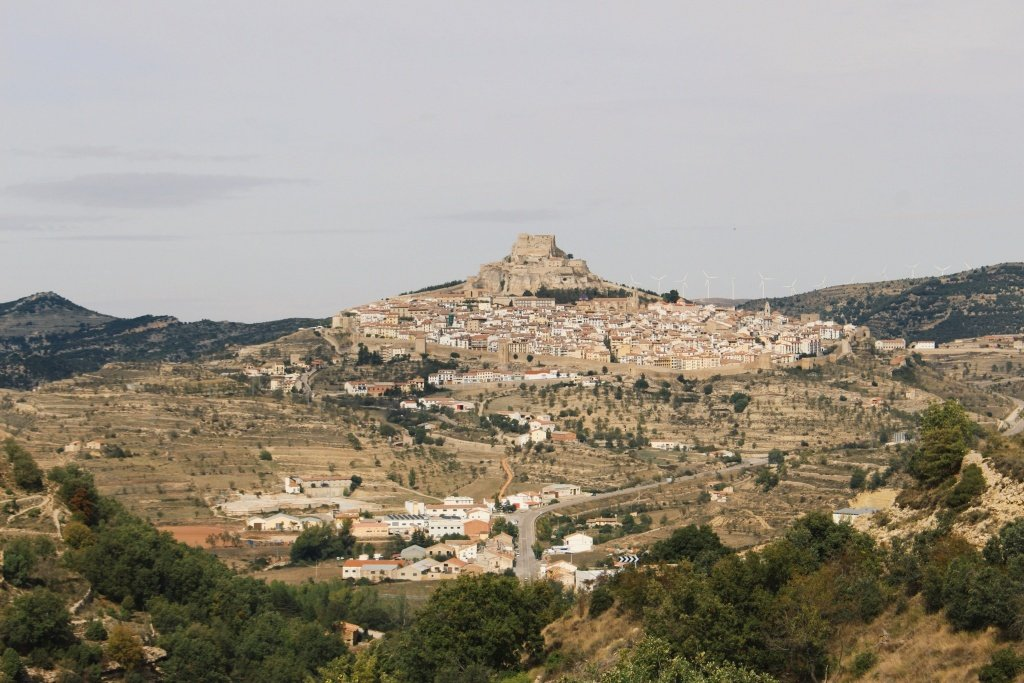 Castle of Morella in Castellon, Spain