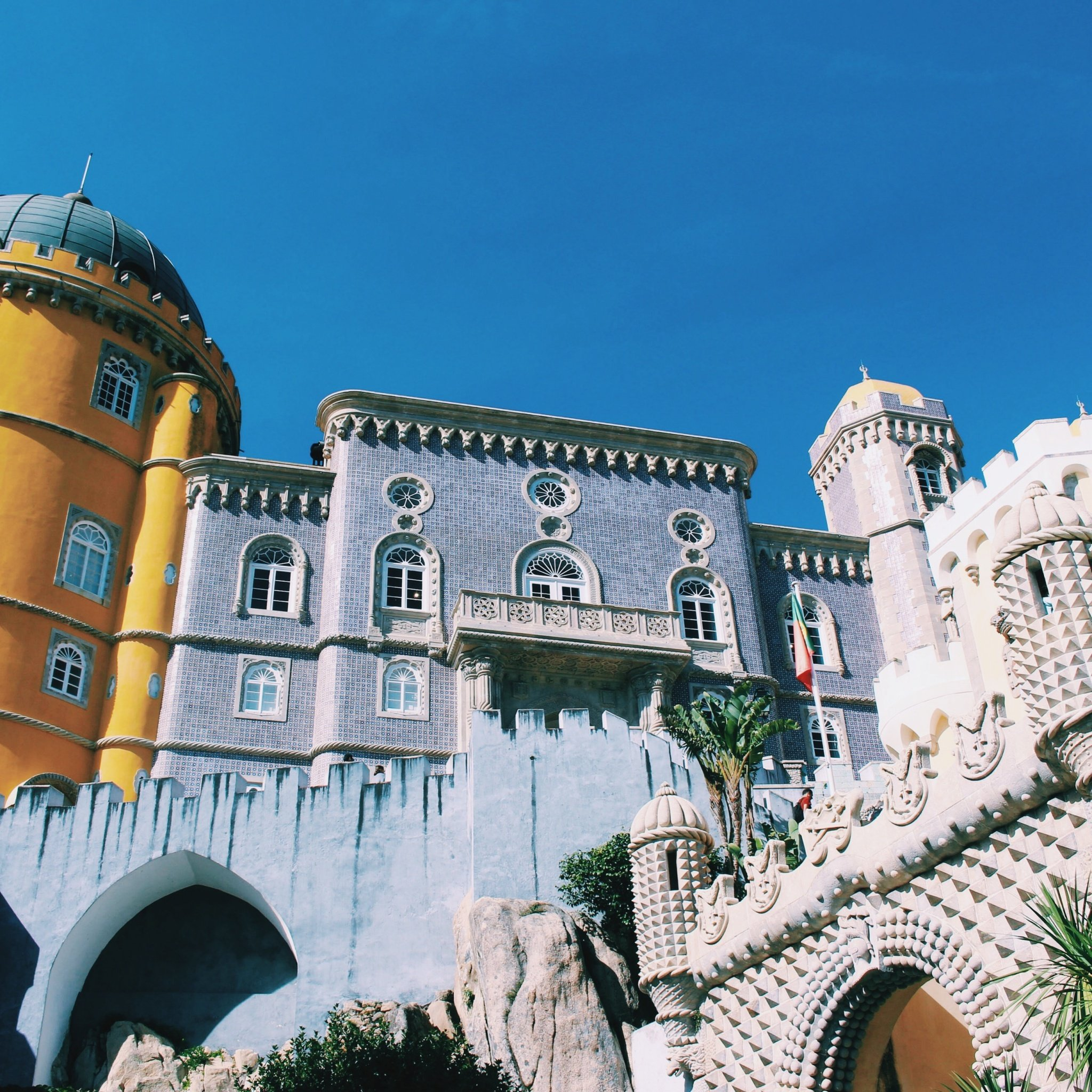 Palace of Pena Castle in Sintra, Portugal