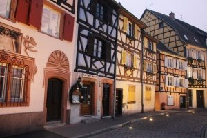 The Magic of Christmas in #Colmar, France. With its half-timbered houses and cobblestone streets, Colmar is a festive #fairytale everyone should experience at least once in a lifetime! #winter #travel #destinations #blog #Christmas #markets #Europe #France