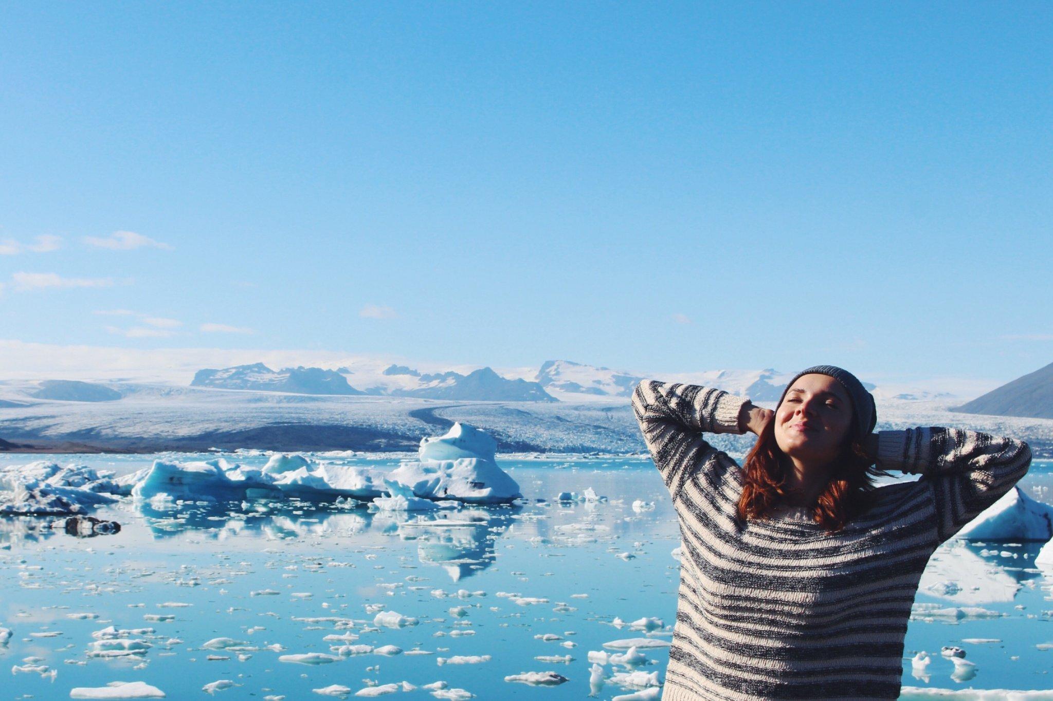 Visiting Jökulsárlón Glacier Lagoon in Iceland