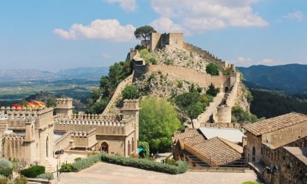 Xativa, Spain: A Castle in the Clouds near Valencia