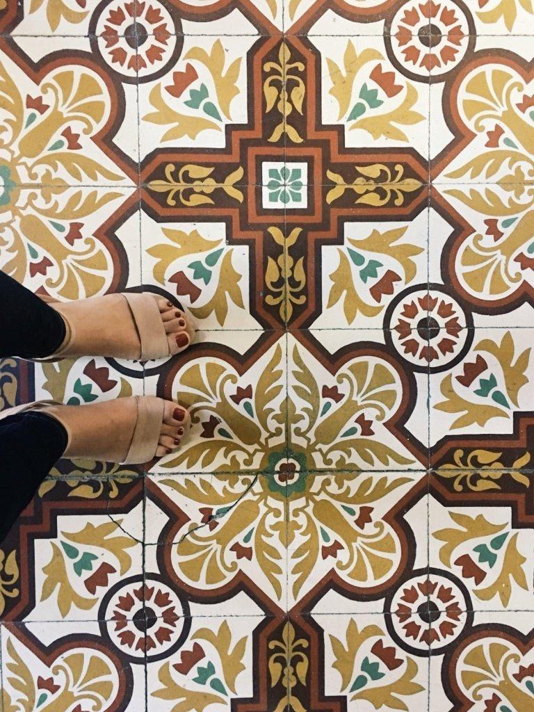 Benassal ceramic floor
