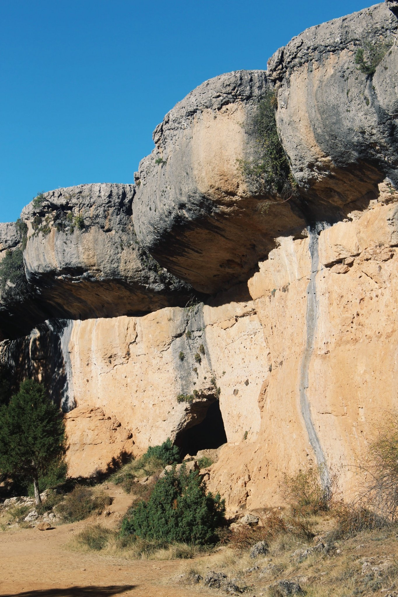 Rock formations of The Enchanted City of Cuenca