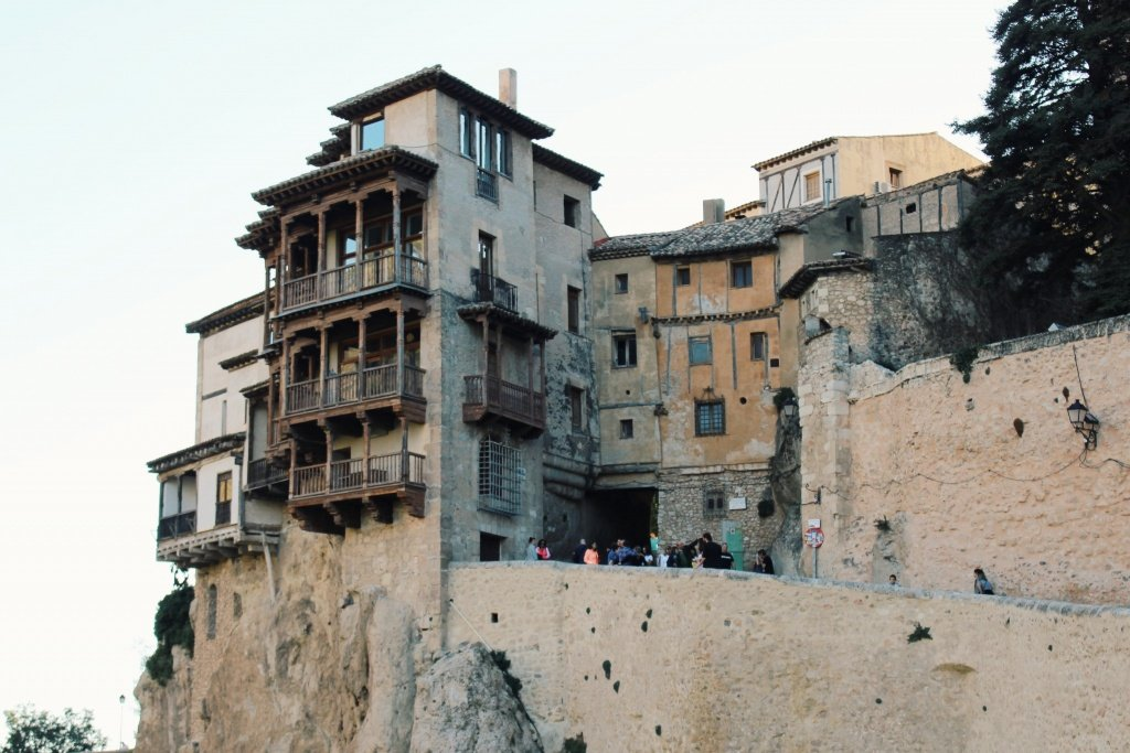 The Hanging Houses of Cuenca in Spain