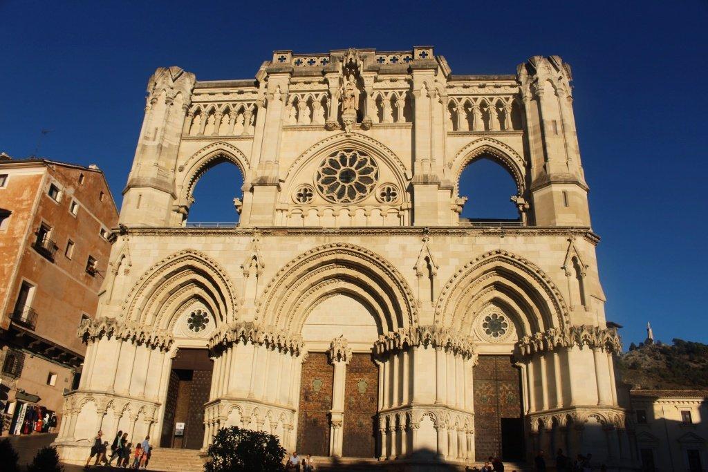 Santa María la Mayor Cathedral in Cuenca, Spain