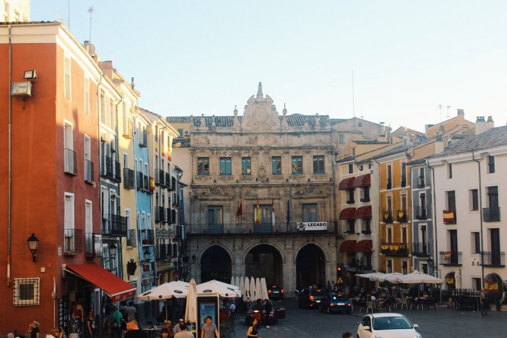 City Center of Cuenca, Spain