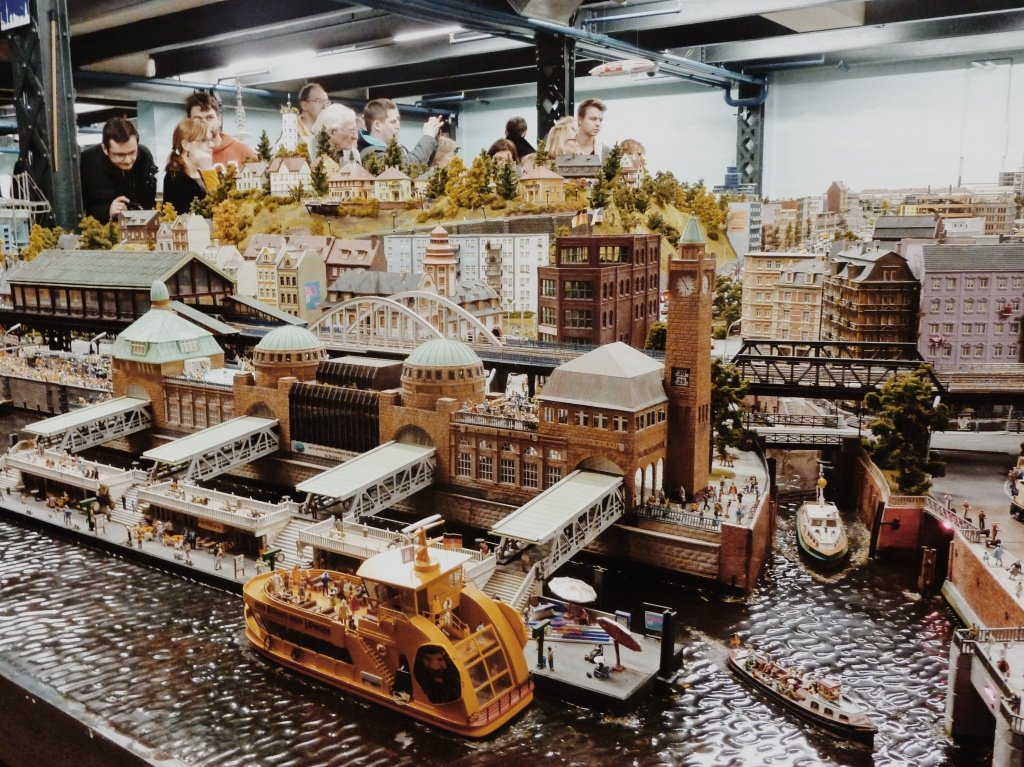 Miniatur-Wunderland in Hamburg, Germany