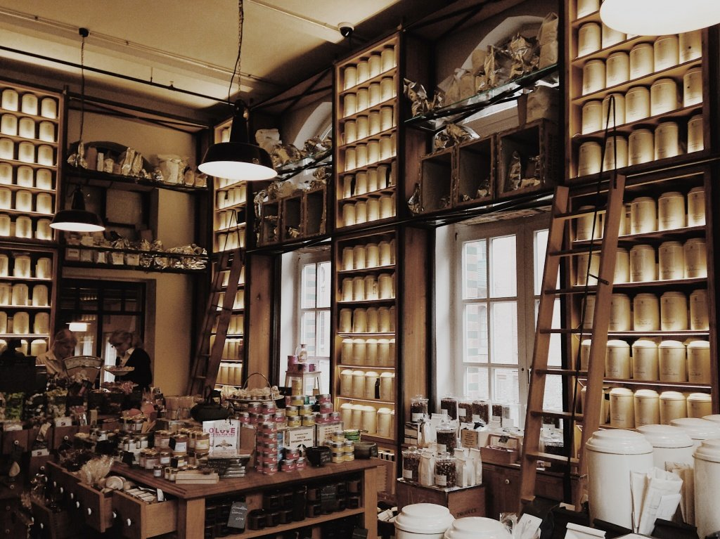 Wasserschloss Tea Shop in Hamburg