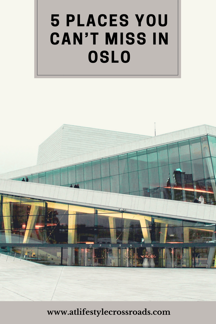 Oslo in Winter - Top things to do pin