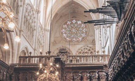 Inside the Burgos Cathedral, Spain