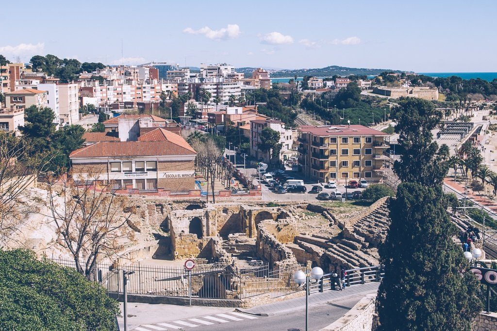 The Roman Amphitheatre in Tarragona