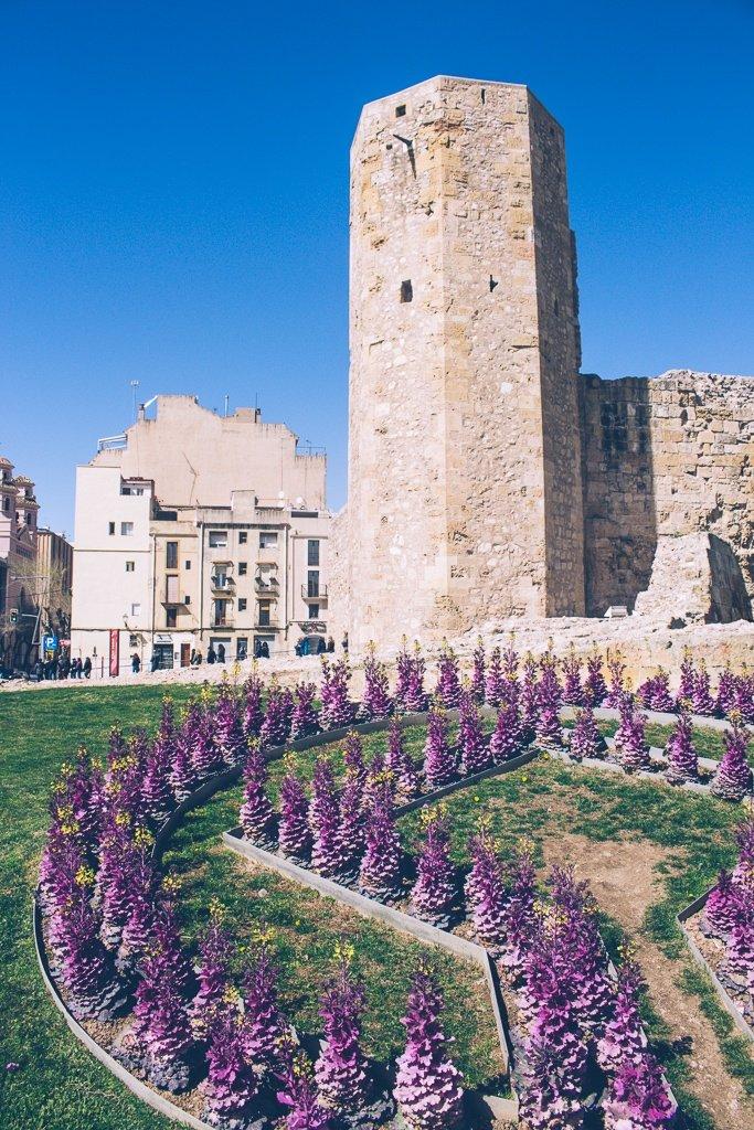Torre de les Monges in Tarragona