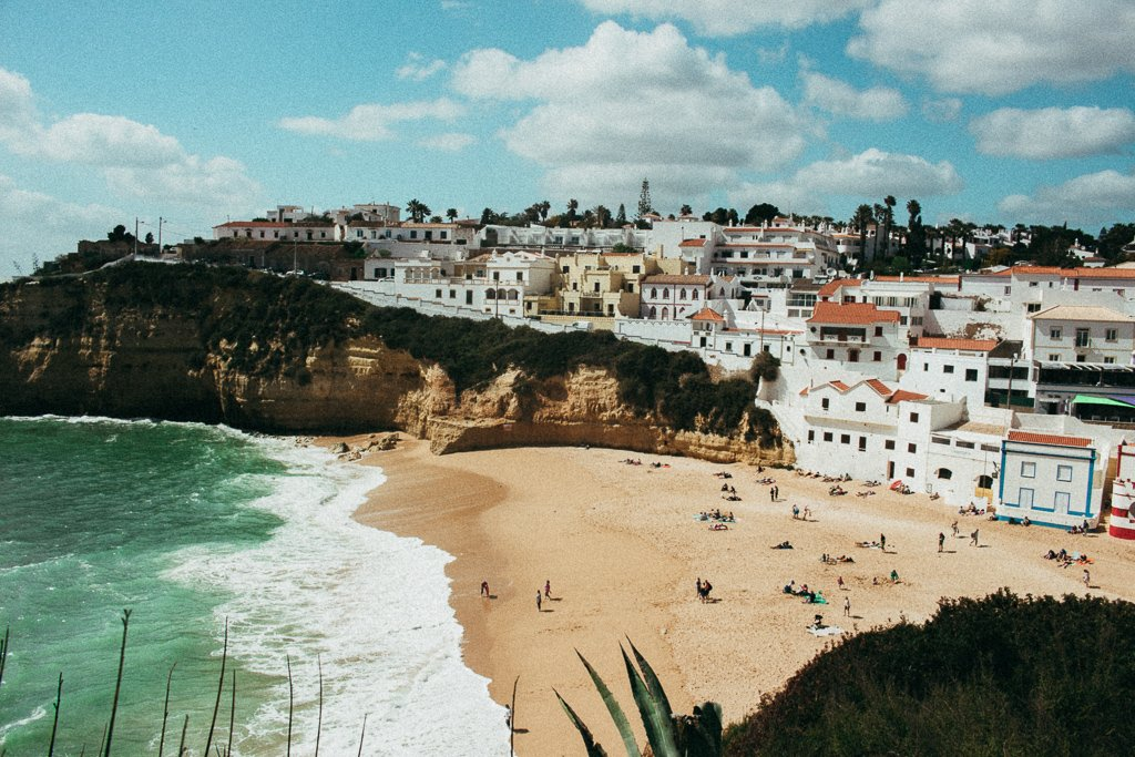 The Carvoeiro Beach, Algarve, Portugal