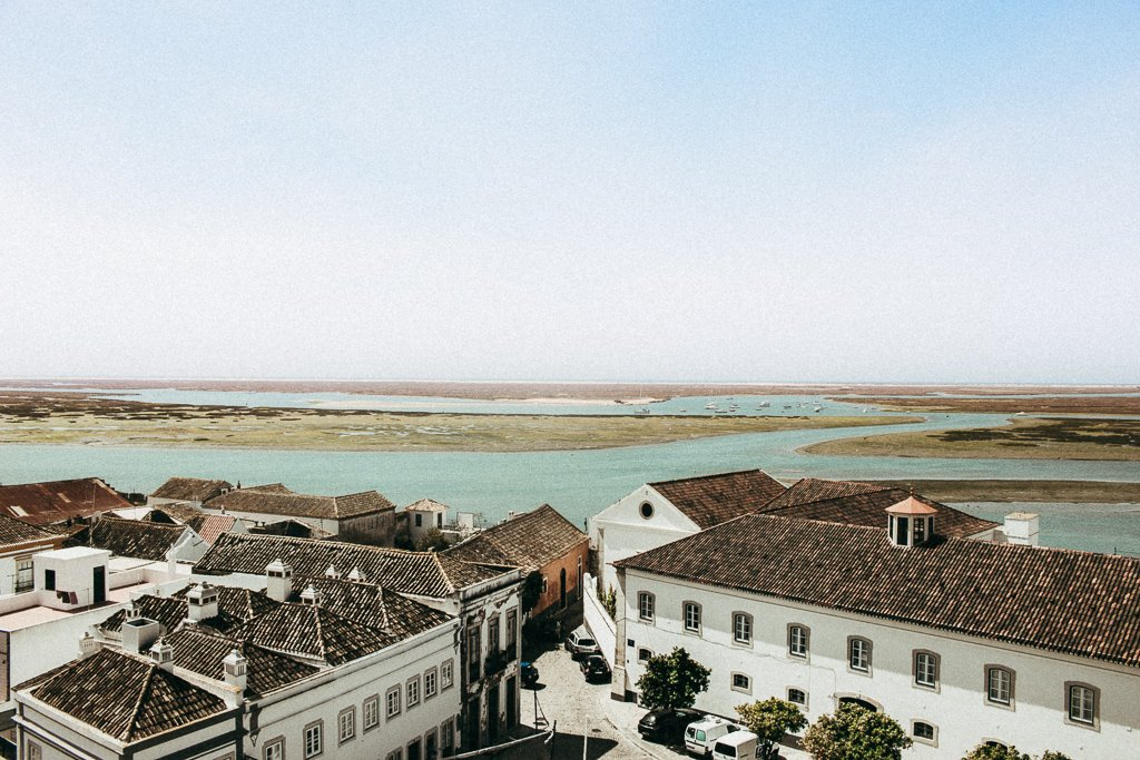 Views from Faro´s Cathedral in Tavira, Algarve
