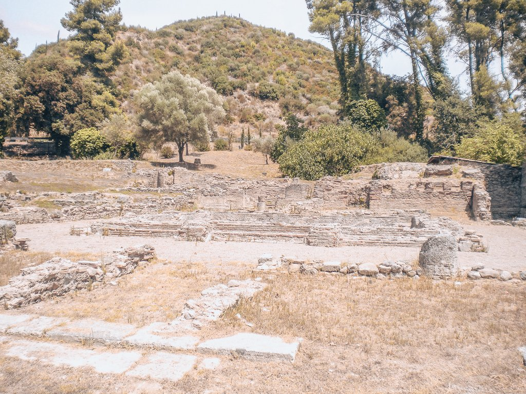 Prytaneion / Where the guests of honor and visitors at The Olympic games were feasted - Olimpia,Greece