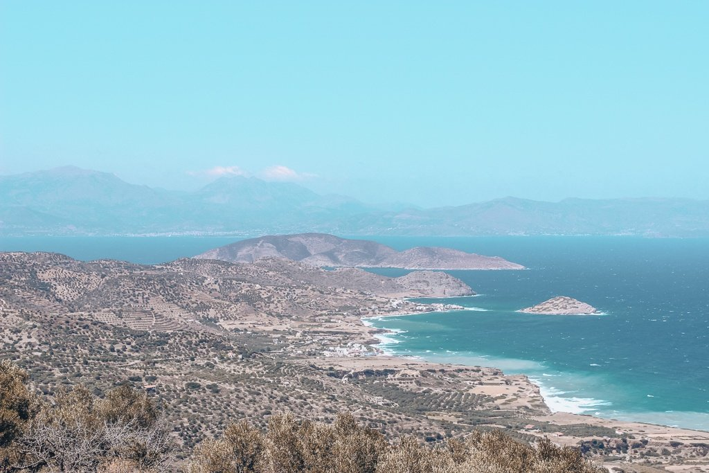 Crete - views on the road