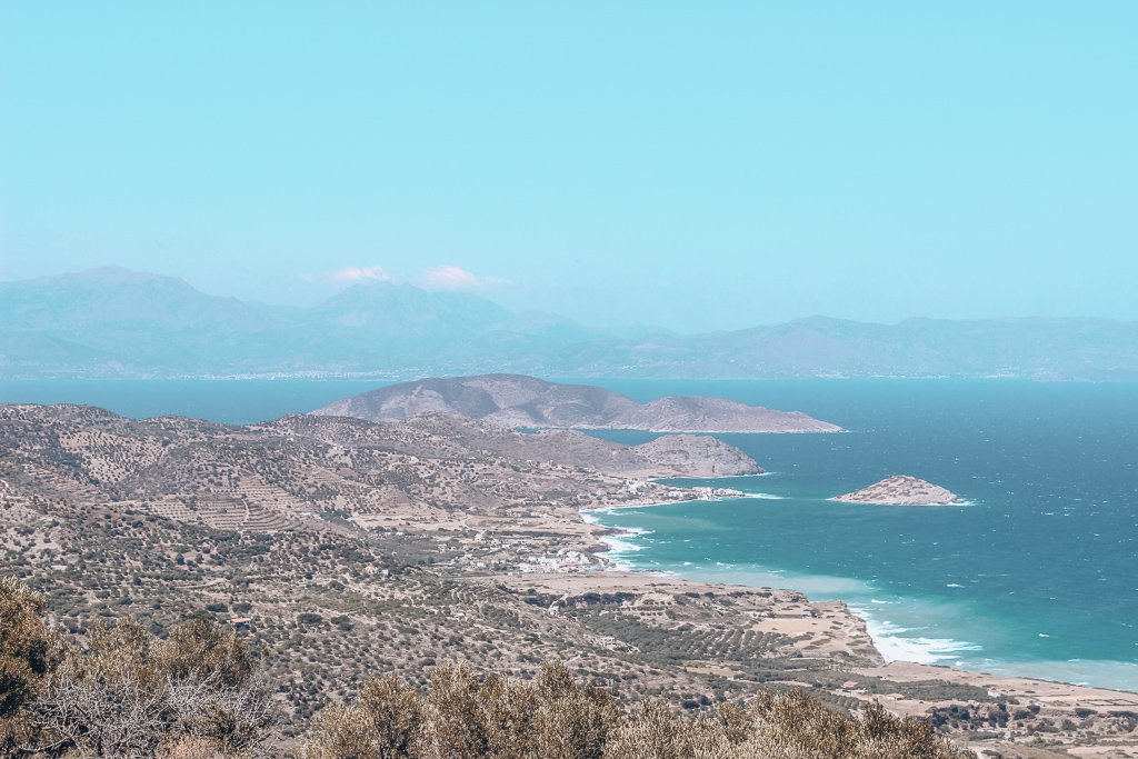 views of Crete, Greece