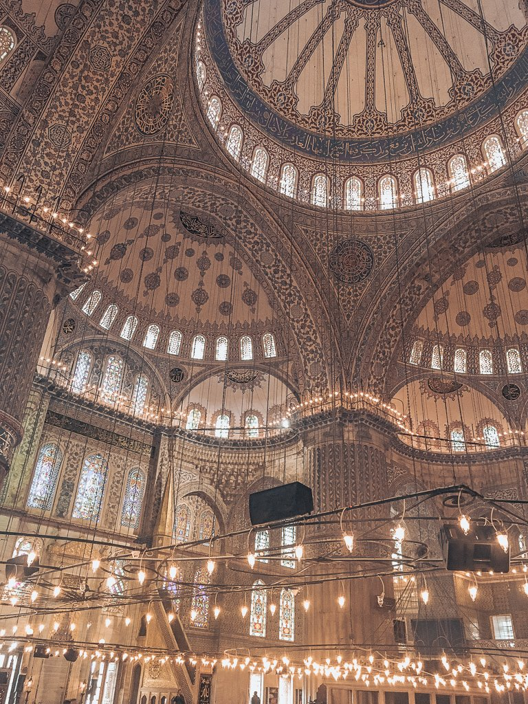 The Sultan Ahmed Mosque, Turkey