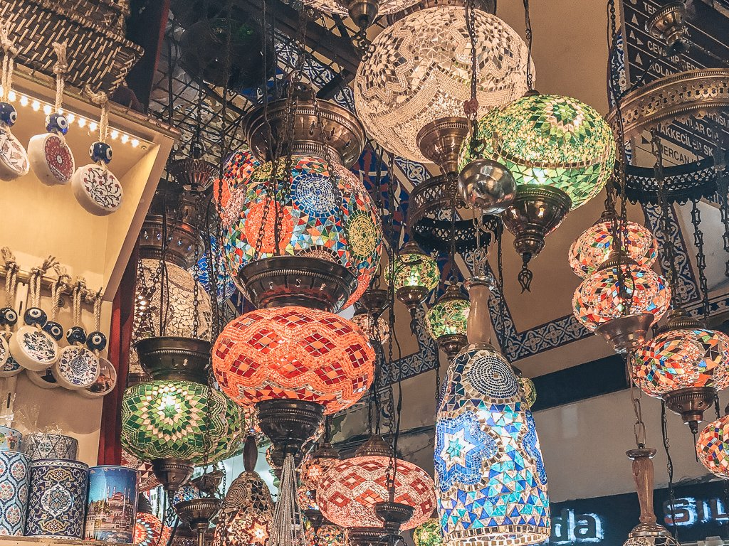 The Grand Bazaar - Istanbul layover