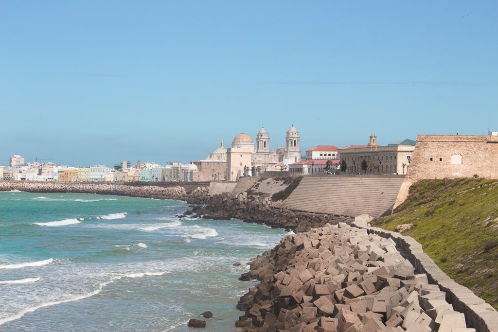 Cadiz oceanside Spain