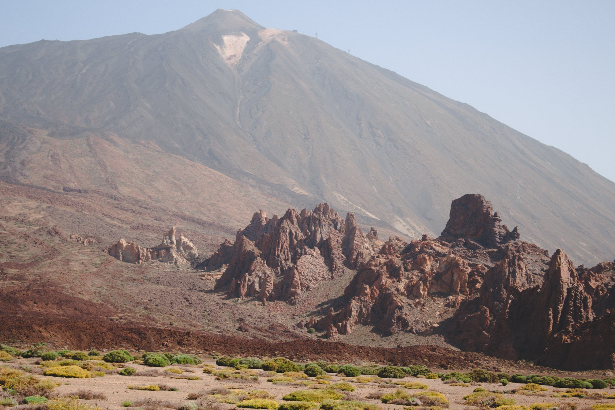 Spain´s highest mountain Teide in Tenerife, Canary Islands