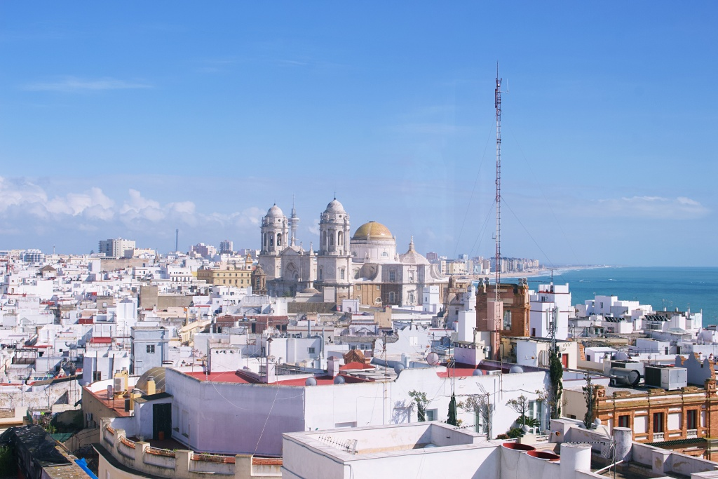 Cadiz, Spain - Panoramic View