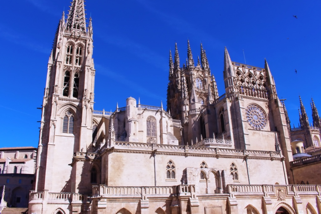 The Cathedral of Saint Mary of Burgos in Spain
