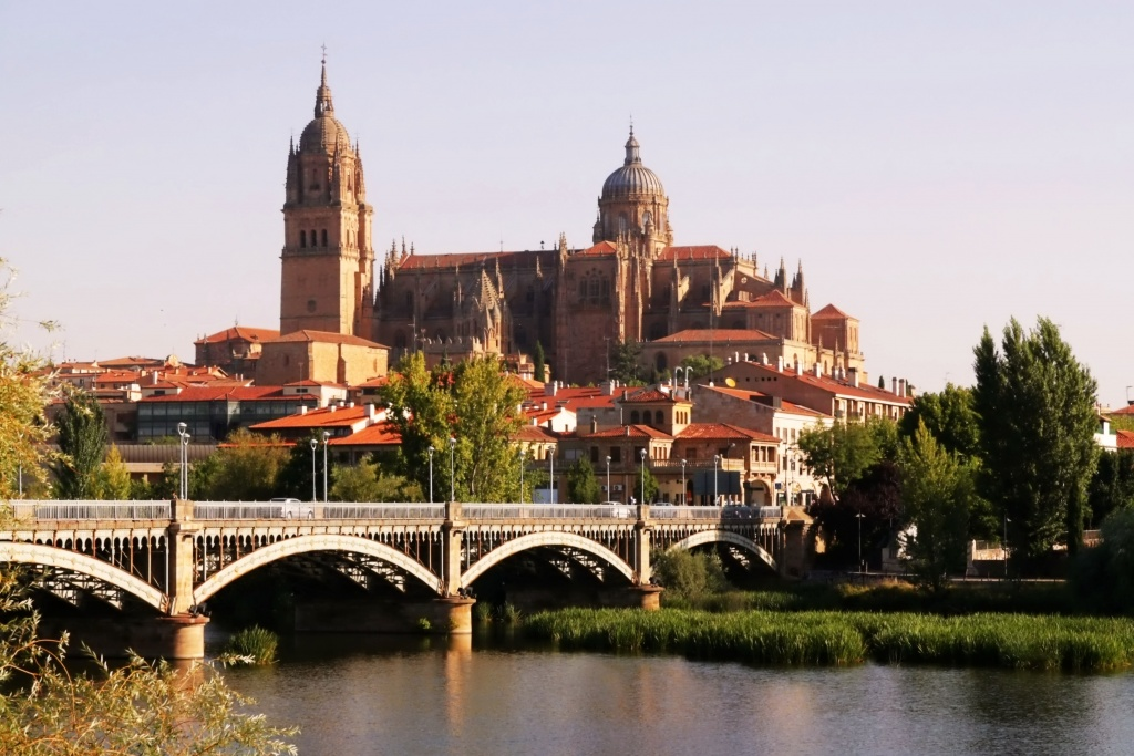 The Old and The New Cathedrals of Salamanca, Spain