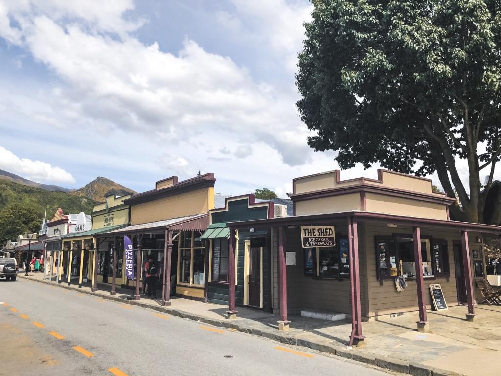 Arrowtown in New Zealand