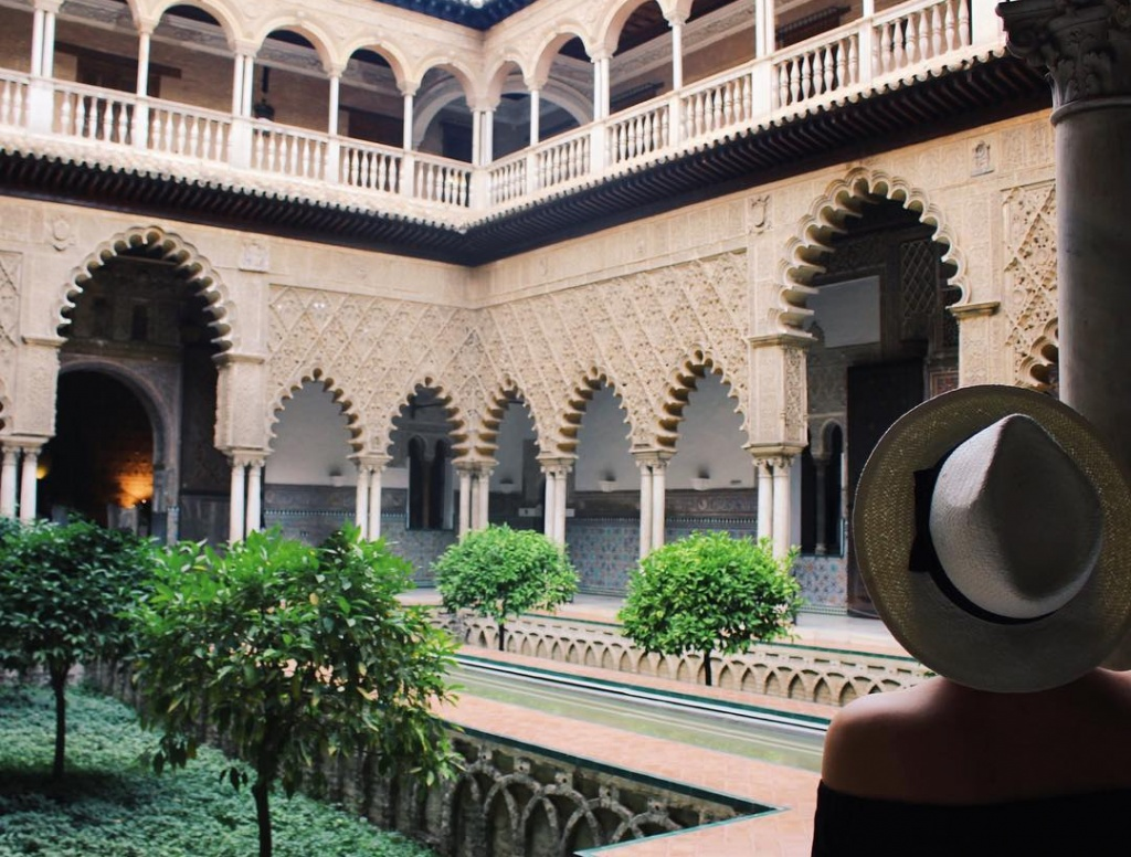 The Royal Alcazar of Seville - Pinterest