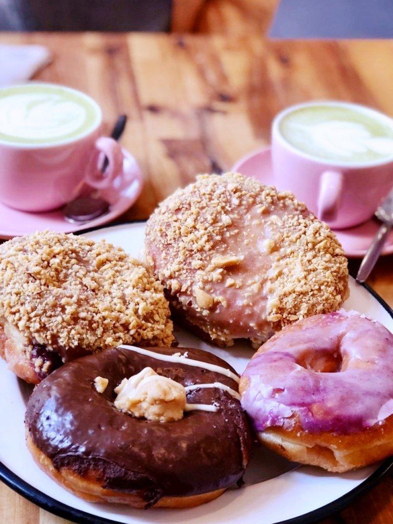 Delicious vegan donuts at Brammibal's Donuts in Berlin, Germany