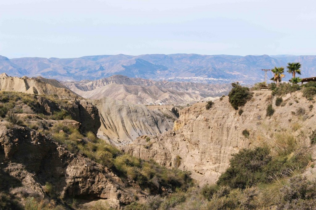 Las Tabernas Desert in Almeria