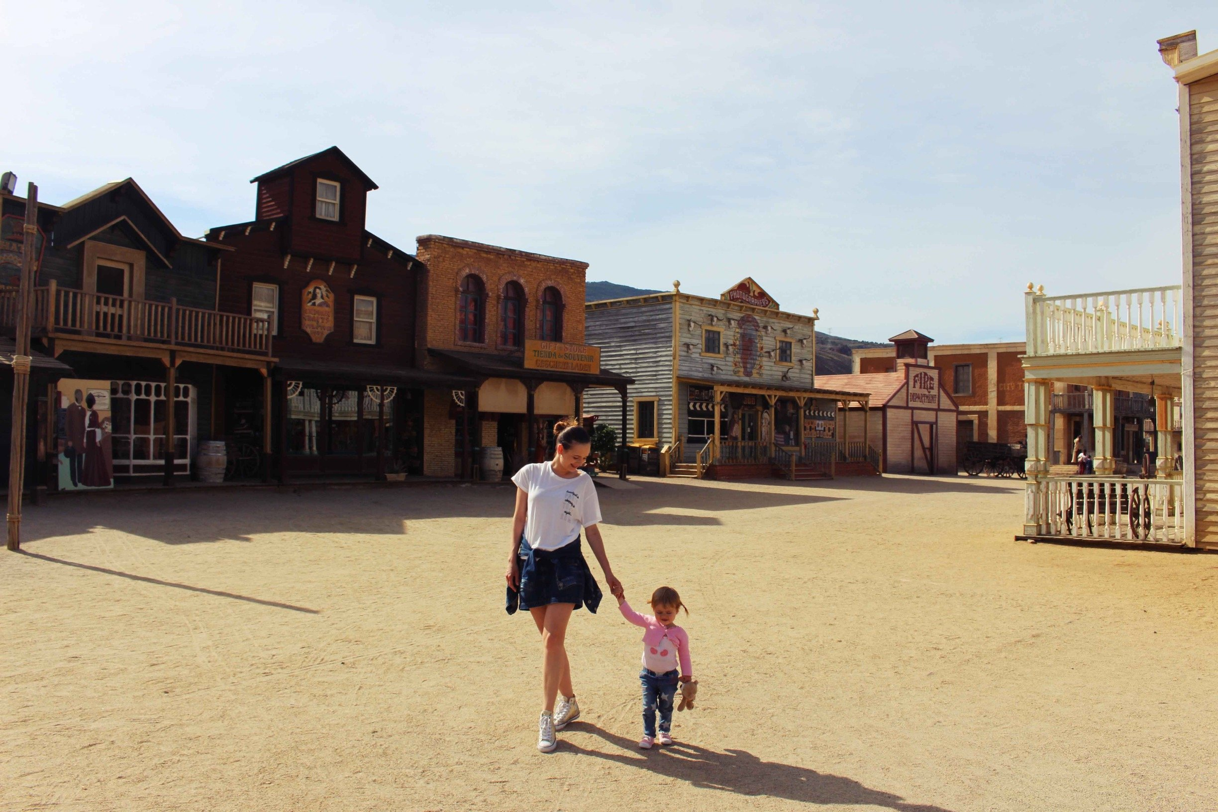 The Spanish Wild West: Theme Parks in Almeria #spain #themepark #almeria #andalusia #wildwest #travel #europe #western #movie #set