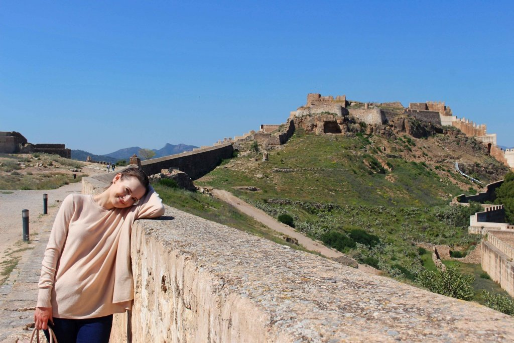 The Castle of Sagunto near Valencia, Spain